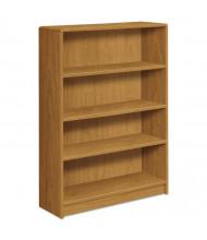 HON 1894 4-Shelf Laminate Bookcases with Radius Edge (Shown in Harvest)