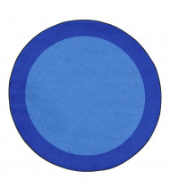 Joy Carpets All Around Classroom Rug, Blue (Shown in Round)