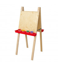 Wood Designs Double Sided Plywood Easel (Shown in Red)