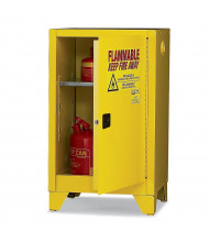 Eagle 16 Gal Self-Closing Flammable Storage Cabinet with Legs