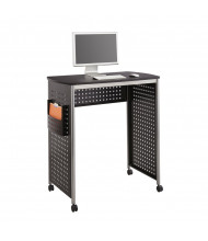 "Safco Scoot 1908BL 39.5"" W Steel Computer Desk (example of use)"