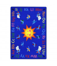 Joy Carpets Alphabet Tweet Classroom Rug