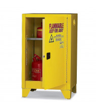 Eagle 12 Gal Self-Closing Flammable Storage Cabinet with Legs