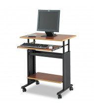 "Safco Muv 1925 29.5"" W Steel Computer Desk (Shown in Cherry)"