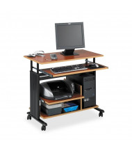 "Safco Muv 1927 35.5"" W Adjustable Steel Computer Desk (Shown in Cherry)"