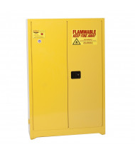 Eagle 1947 Flammable Storage Cabinet, 45 Gallons, Yellow