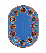 Joy Carpets The Circle Classroom Rug