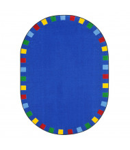 Joy Carpets On the Border Classroom Rug, Bright
