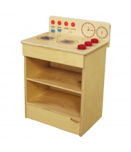 Wood Designs Tot Range Kitchen Dramatic Play Set (Shown in Red)
