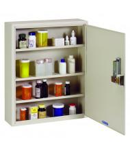 "SteelMaster Med-Master 16.5"" W x 5"" D x 20"" H Simplex Lock Medical Storage Cabinet"
