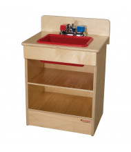 Wood Designs Tot Sink Kitchen Dramatic Play Set (Shown in Red)