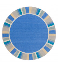 Joy Carpets Off the Cuff Classroom Rug, Light Blue