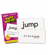 "Trend Sight Words Set 2 Skill Drill Flash Cards, 3-3/8"" x 6-1/4"", 97/Pack"