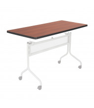 "Safco Impromptu 2065 48"" W x 24"" D Training Table Top (Shown in Cherry, Base Sold Separately)"