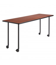 Safco Impromptu 2074 Fixed Leg Base (Shown in Black, Top Sold Separately)