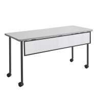 "Safco Impromptu 2076 Modesty Panel for 60"" W Training Table (Shown in Black)"