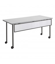 "Safco Impromptu 2077 Modesty Panel for 72"" W Training Table (Shown in Black)"
