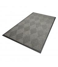 WaterHog Diamond 208 Rubber Back Polypropylene Indoor/Outdoor Scraper Floor Mats (Shown in Grey)