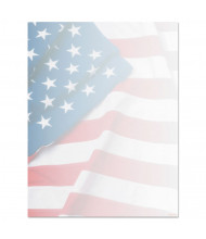 "Geographics 8-1/2"" x 11"", 24lb, 100-Sheets, Flag Design Paper"