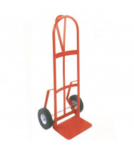 "Wesco 126D Series Single ""D"" Handle 600-800 lb Load 14"" Nose Hand Trucks"