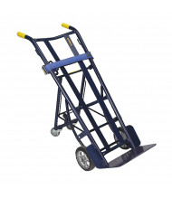 Wesco 4 Wheel Dual Handle Design 700-1000 lb Load Warehouse Trucks