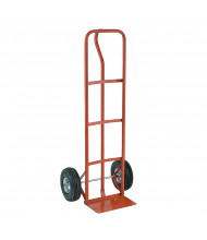 "Wesco SR Economy-PE 500 lb Load 14"" W Nose Hand Truck, Pneumatic Wheels"