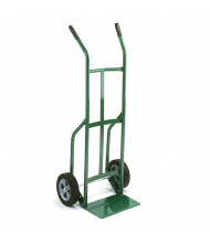 "Wesco Greenline 636 Dual Handle 500-600 lb Load 14"" Nose Steel Trucks"