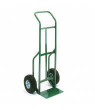 "Wesco Greenline 656 Curved Handle 500-600 lb Load 14"" Nose Steel Hand Trucks"