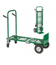 "Wesco E-CON Greenline 700/800 lb Load 13.75"" x 48"" Bed Convertible Hand Truck"