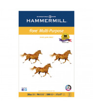 "Hammermill Fore 11"" x 17"", 20lb, 500-Sheets, Multipurpose Copy Paper"