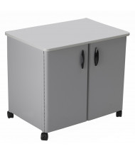 """Mayline 30"""" W Mobile Steel Utility Storage Cabinet with Laminate Top"""