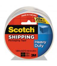 """Scotch 1.88"""" x 54.6 yds Clear Heavy-Duty Packaging Tape, 3"""" Core"""