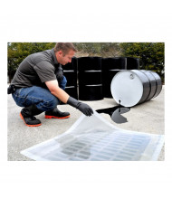 Ultratech Ultra-Drain Clear Polyurethane Seal Covers (example of use, square model shown)