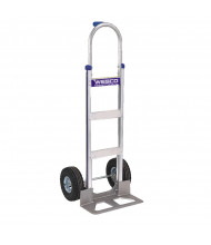 "Wesco Cobra-Lite Pin Handle 560-600 lb Load 18"" Nose Aluminum Hand Trucks"