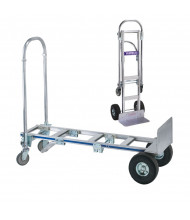 "Wesco Cobra Sr 18"" Extruded Nose 560-1200 lb Load Convertible Hand Trucks"