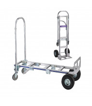 "Wesco Cobra Sr 18"" Cast Nose 560-1200 lb Load Aluminum Convertible Hand Trucks"
