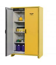Justrite EN 22603 30-Minute Fire Resistant 45 Gal Hybrid Flammable Storage Cabinet