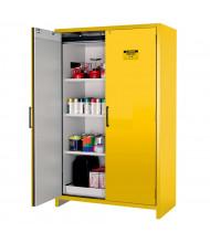 Justrite EN 22607 90-Minute Fire Resistant 45 Gal Hybrid Flammable Storage Cabinet