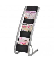 "Alba 36"" H 6-Compartment Literature Floor Display Rack"