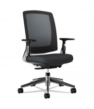 HON Lota 2283 Weight Activated Tilt Mesh-Back Fabric Mid-Back Task Chair (Shown in Black)