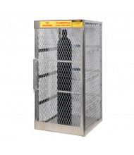 Justrite Cylinder Storage Locker Cage (Vertical 10 Cylinder Model)