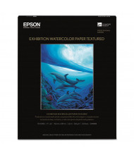 "Epson Exhibition 17"" x 20"", 22 mil, 25-Sheets, Matte Watercolor Paper"