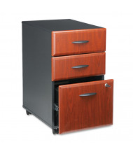 Bush WC94453SU Mobile Box/Box/File Pedestal File, Hansen Cherry