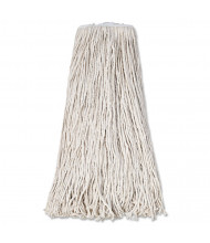 Boardwalk 32 oz. Standard Mop Head, White, Pack of 12