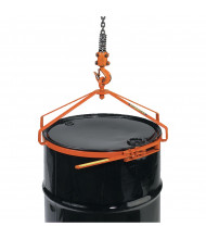 Wesco EDL-5 700 lb Load Economy 55-Gallon Steel Drum Lifter