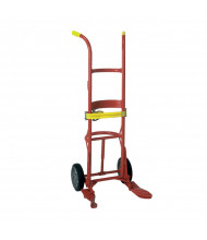Wesco 40BT Steel/Poly/Fiber 1000 lb Load Drum Hand Truck, Moldon Rubber wheels