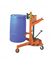 Wesco DM-1100 Manual Hydraulic Ergonomic Drum Lifter (shown with poly drum)