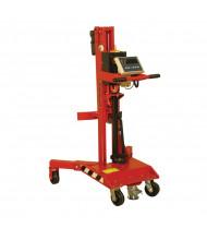 Wesco DM-1100-S Manual Scale Pallet Truck Drum Lifter