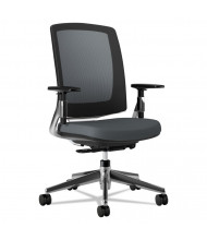 HON Lota 2283 Weight Activated Tilt Mesh-Back Fabric Mid-Back Task Chair, Grey