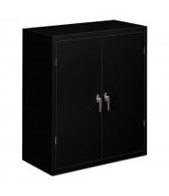 """HON Brigade SC1842P 36"""" W x 18"""" D x 42"""" H Storage Cabinet in Black, Assembled"""
